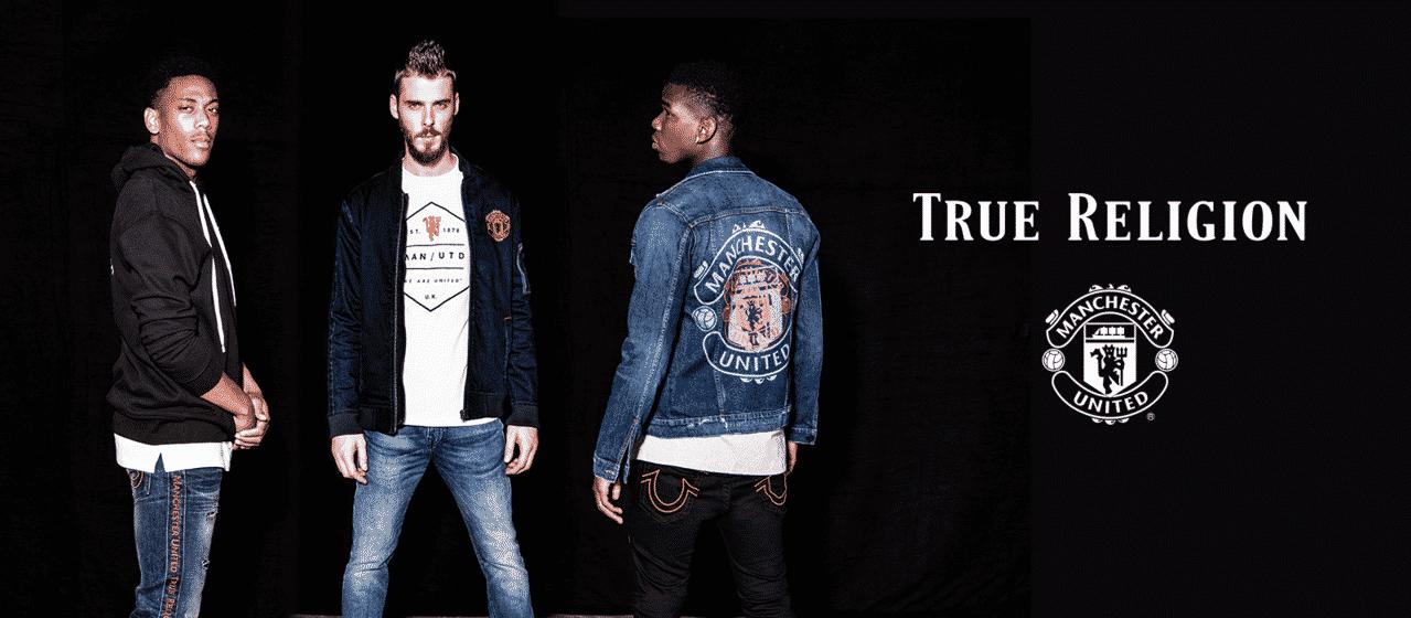 Manchester United et True Religion lancent une gamme mode !