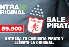 Image de l'article Quand un club colombien propose à ses supporters d'échanger un maillot de contrefaçon contre une tenue officielle!