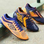 Umbro dévoile un nouveau coloris orange et violet pour sa gamme football