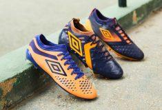 Image de l'article Umbro dévoile un nouveau coloris orange et violet pour sa gamme football