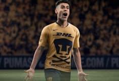 Image de l'article Un maillot spécial «Día de Muertos» pour les Pumas de Club Universidad Nacional au Mexique