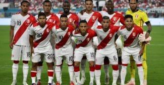 Image de l'article Quand les maillots du Pérou déteignent en plein match …
