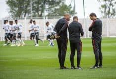 Image de l'article Thierry Henry en chaussures masquées pour son premier entrainement avec l'AS Monaco!