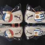 Orravan Design customise une Puma Future 2.1 pour Antoine Griezmann