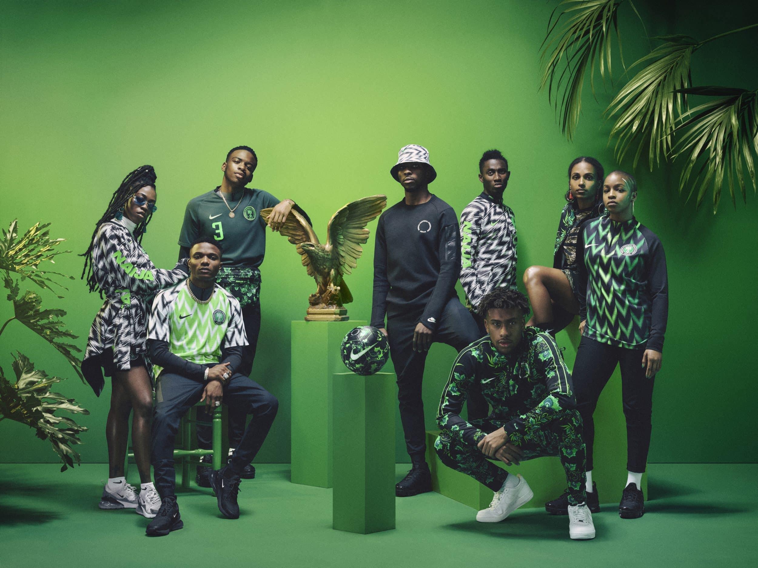 Nike et le Nigéria prolongent leur contrat jusqu'en 2026