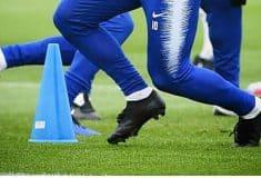 Image de l'article #BootsMercato : Eden Hazard et Isco en chaussures masquées à l'entrainement!