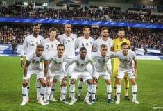 Image de l'article Les chaussures des 23 Bleus pour les matchs face aux Pays-Bas et à l'Uruguay