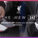 New Balance dévoile une NB247 aux couleurs du maillot away de Liverpool