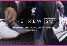 Image de l'article New Balance dévoile une NB247 aux couleurs du maillot away de Liverpool