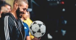 Image de l'article Les chaussures de foot de … Karim Benzema