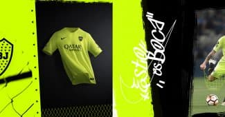 Image de l'article Boca Juniors dévoile avec Nike son maillot third pour 2018/19