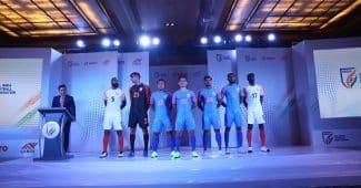 Image de l'article L'Inde dévoile ses nouveaux maillots avec la marque Six5Six