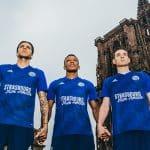 Le RC Strasbourg va évoluer avec un maillot spécial face à Reims