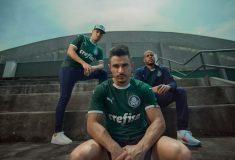 Image de l'article Le club brésilien de Palmeiras dévoile ses nouveaux maillots Puma