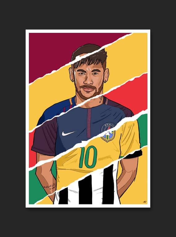 poster-carriere-neymar-mark-johnson