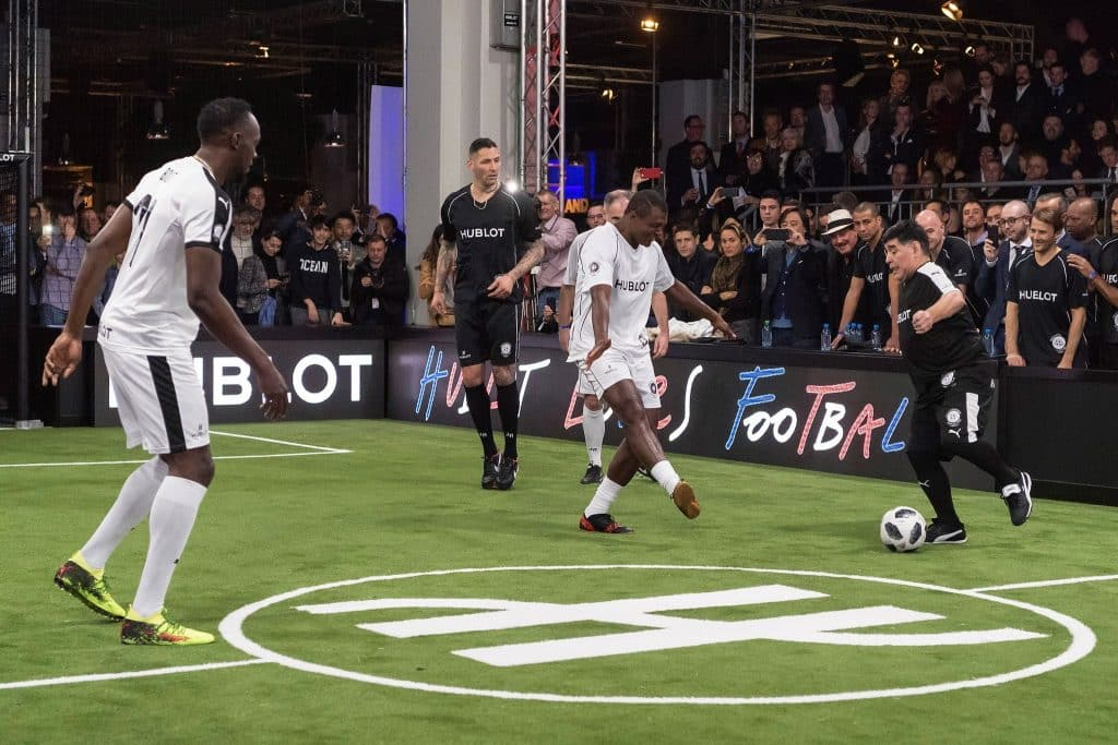 Entre Usain Bolt et le football, c'est fini