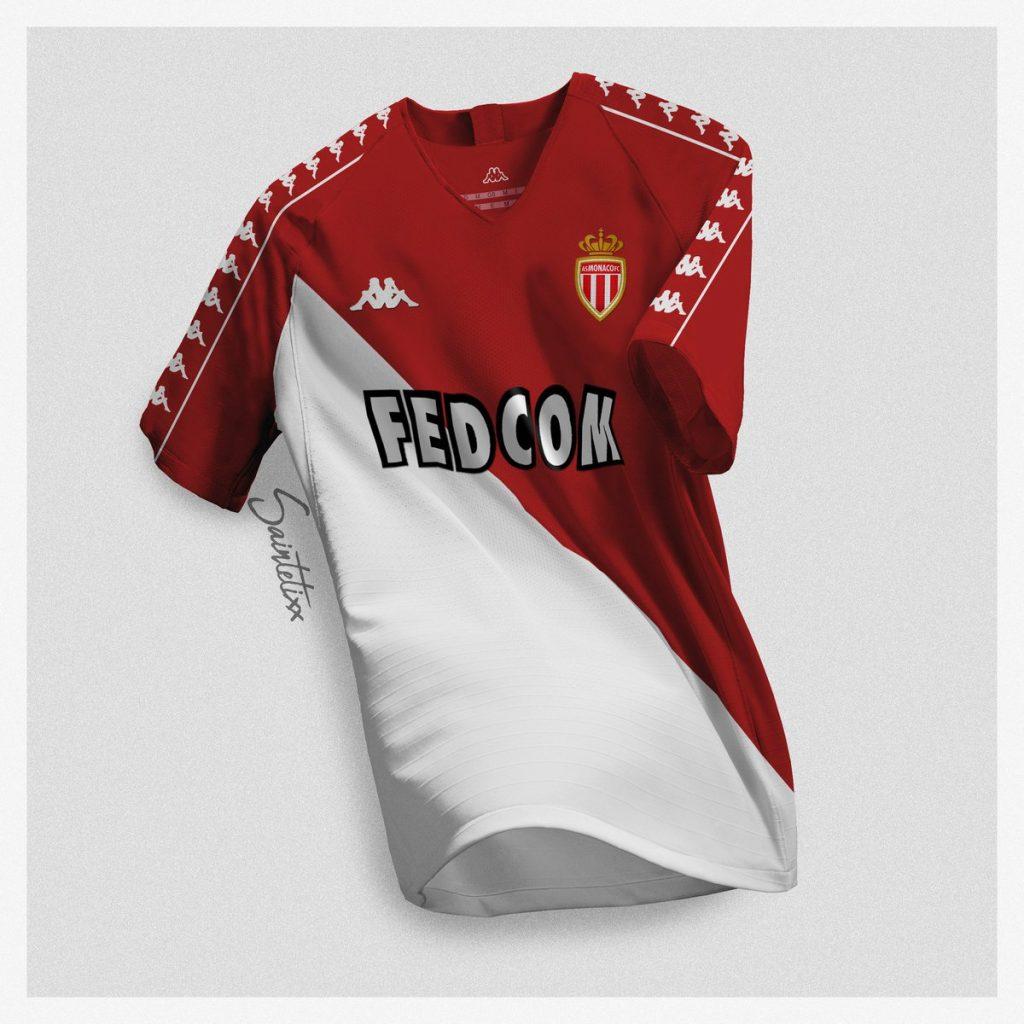 en soldes f81db 3de78 Kappa va redevenir l'équipementier de l'AS Monaco !