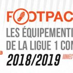 Infographie : Les équipementiers de la Ligue 1 (Saison 2018/2019)