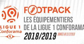 Image de l'article Infographie : Les équipementiers de la Ligue 1 (Saison 2018/2019)