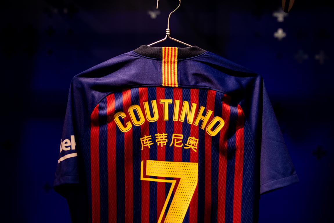 maillot-fc-barcelone-coutinho-2018-2019-chinois