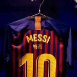 Les noms des joueurs du Barça en chinois face au Real Madrid!