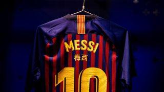 Image de l'article Les noms des joueurs du Barça en chinois face au Real Madrid !