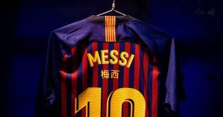 Image de l'article Les noms des joueurs du Barça en chinois face au Real Madrid!