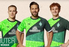 Image de l'article Le Werder Brême dévoile un maillot spécial pour ses 120 ans