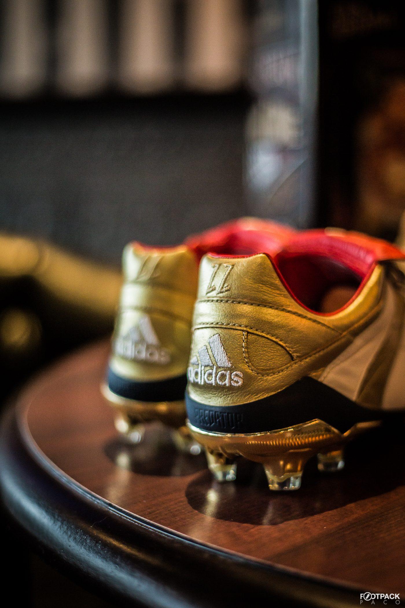 Chaussure Predator Accelerator Zinédine Zidane Bleu adidas | adidas France