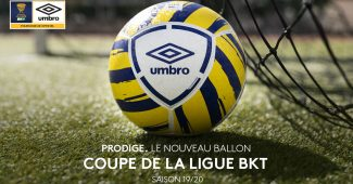 Image de l'article Umbro dévoile le ballon 2019-2020 de la Coupe de la Ligue !