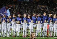 Image de l'article Les chaussures des 23 joueuses de l'équipe de France face à l'Allemagne et l'Uruguay