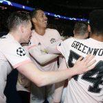 Quand un joueur de Manchester United porte un flocage du Paris Saint-Germain …