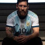 L'Argentine dévoile son nouveau maillot 2019 pour la Copa América