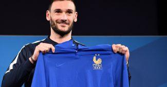 Image de l'article L'équipe de France portera un maillot spécial 100 ans de la FFF face à l'Islande