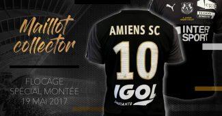 Image de l'article Amiens dévoile un maillot collector pour le match face au Stade de Reims