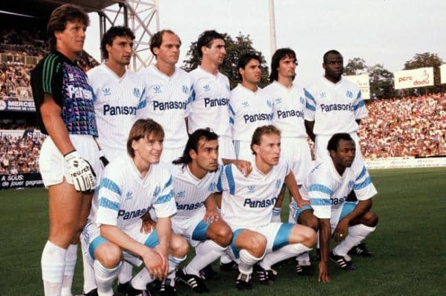 maillot-fooball-adidas-OM-1989-1991