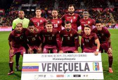 Image de l'article Quand le Venezuela joue avec des tee-shirts de la marque Quechua!