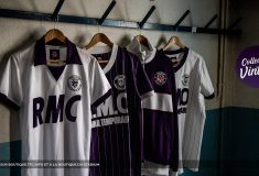 Image de l'article Le club du Toulouse FC dévoile une collection vintage