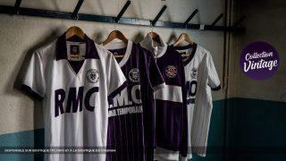 Image de l'article Le club du Toulouse FC dévoile une collection vintage