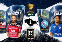 Image de l'article Nicolas Benezet et MC Protech personnalisent des protège-tibias pour la finale de la Coupe de Ligue 2019