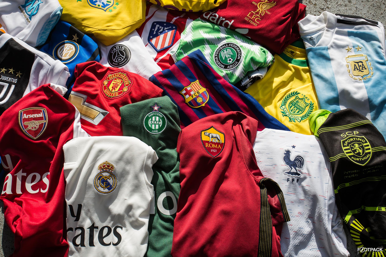 40f8a933d Tous les maillots de football de la saison 2019-2020