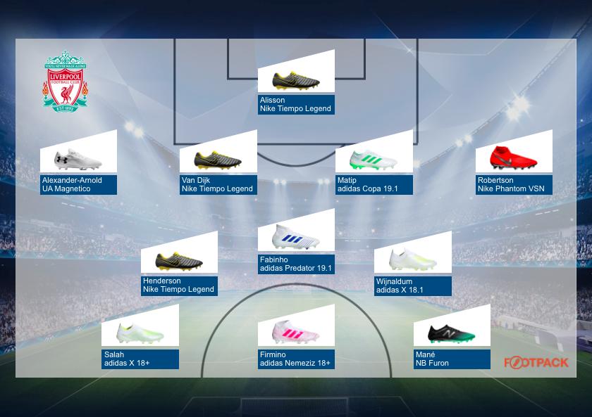 compos-chaussures-liverpool-demi-finale-ligue-des-champions-barcelone-liverpool