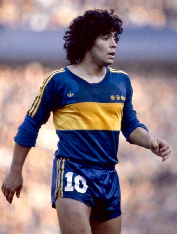 diego-maradona-maillot-boca-juniors-1981-adidas