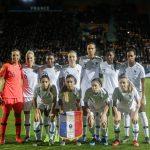 Les chaussures des 23 joueuses de l'équipe de France face au Japon et au Danemark