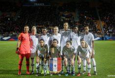 Image de l'article Les chaussures des 23 joueuses de l'équipe de France face au Japon et au Danemark