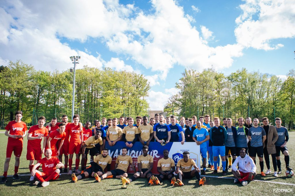 La Cup Rejoins Pour 2019 Footpack Clairefontaine Team L'intersport TKuJl3F1c