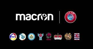 Image de l'article Macron et l'UEFA aident les petites nations avec des maillots personnalisés