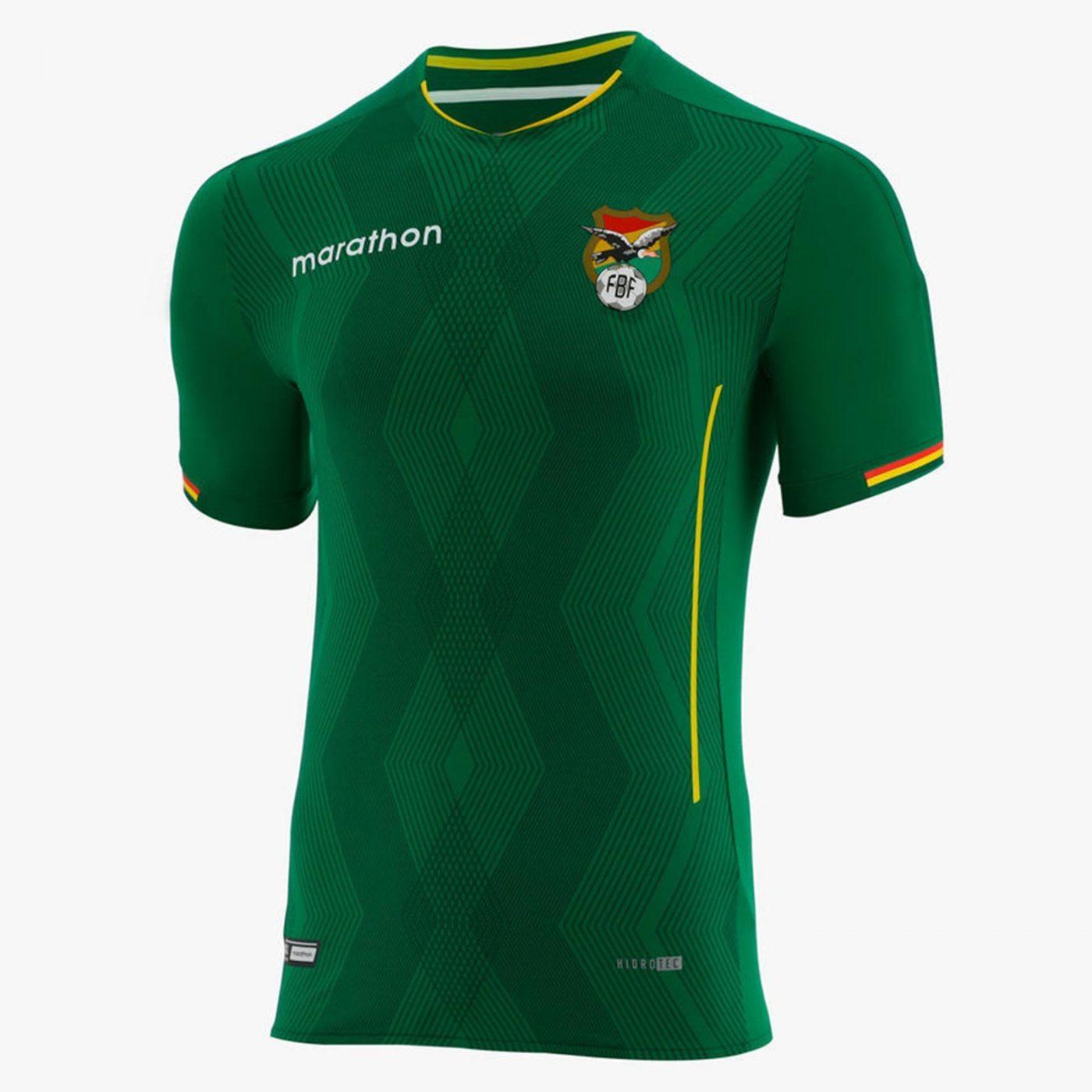 maillot-domicile-bolivie-2019-copa-america-2019