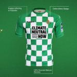 Un nouveau maillot pour le Bétis, créé avec des matériaux recyclés