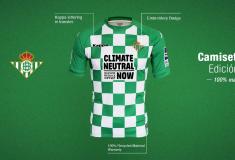 Image de l'article Un nouveau maillot pour le Bétis, créé avec des matériaux recyclés